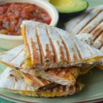 Chicken, Sweet Potato, and Black Bean Quesadillas