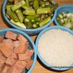 Ham and Asparagus Risotto