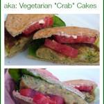 "Zucchini Cakes or AKA, Vegetarian ""Crab"" Cakes"