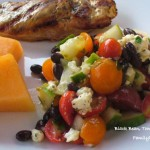 Black Bean, Tomato & Feta Salad