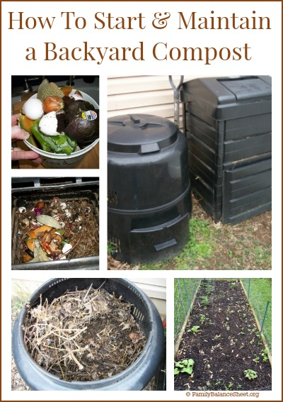 How To Start U0026 Maintain A Backyard Compost