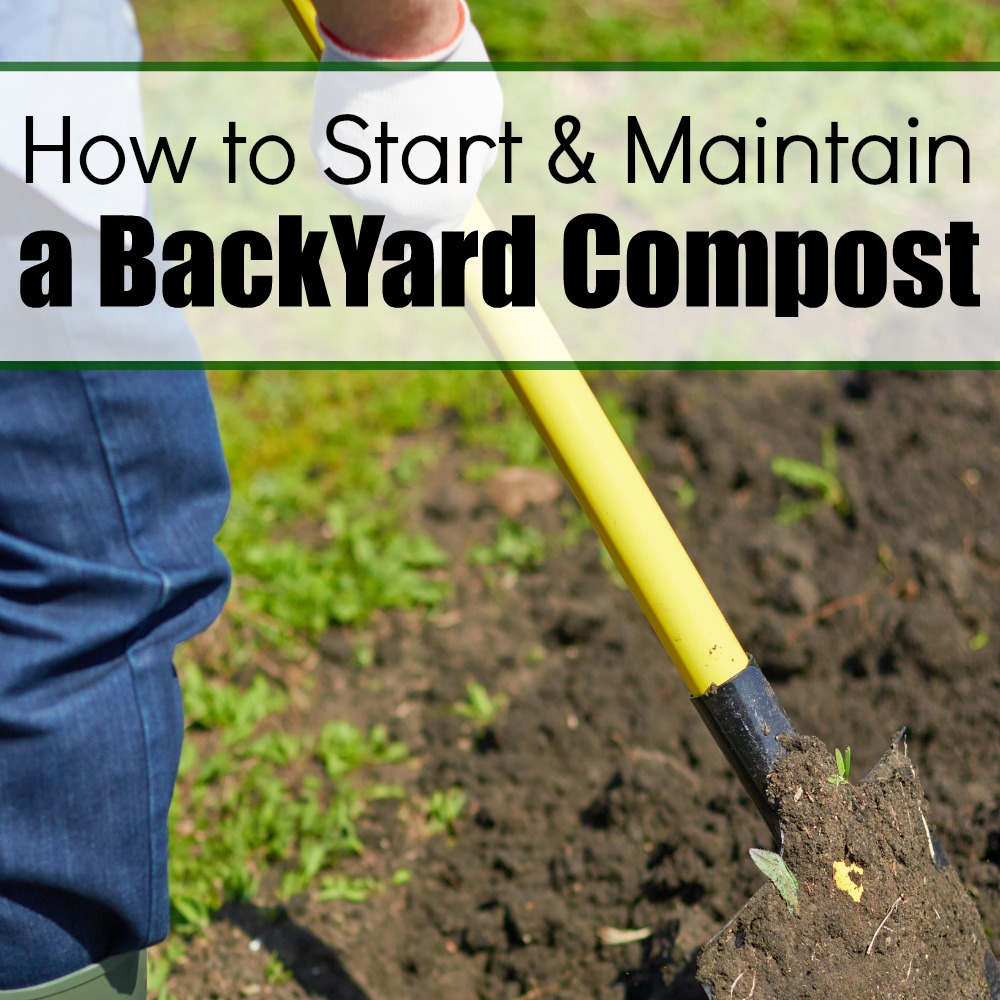 how to start a compost bin in your backyard how to start a ...