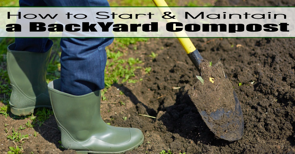 How to Start & Maintain a Backyard Compost