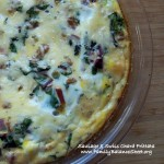 Sausage and Swiss Chard Frittata