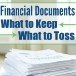 How Long Should You Keep Financial Documents