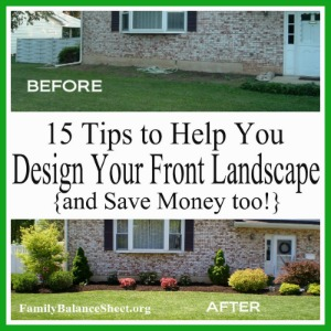 Tips to Design your own front landscape 300X300