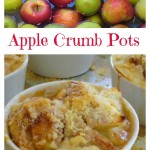 Apple Crumb Pots