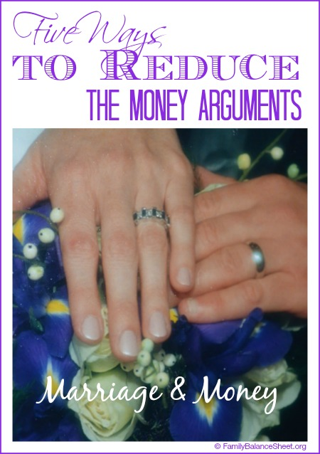 5 ways to reduce the money arguments