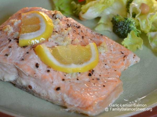 Garlic Lemon Salmon