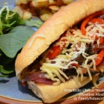 Portobello Cheese 'Steak' Sandwich (Meatless Meal Idea)