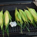 Grilled Corn on the Cob with Grilled Garlic Butter {Summer Grillin'}
