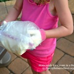 Homemade Ice Cream in a Bag