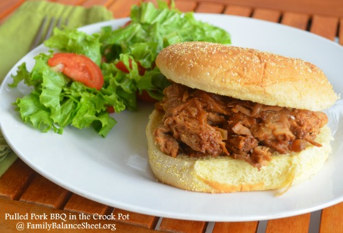 Pulled Pork BBQ in the Crock Pot