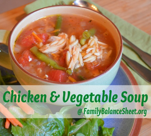 Chicken & Vegetable Soup 1