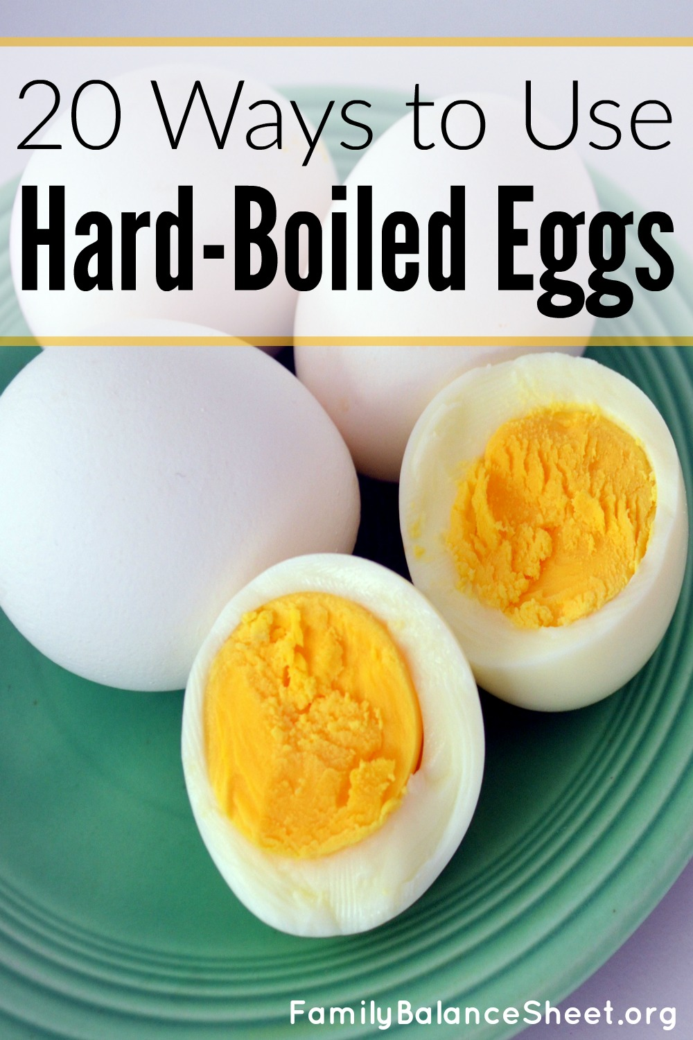 20 ways to use hard-boiled eggs