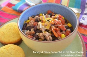 Turkey & Black Bean Chili Slow Cooker Recipe 2