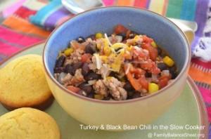 Turkey & Black Bean Chili Slow Cooker Recipe 2