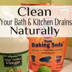 Clean Your Bath & Kitchen Drains Naturally