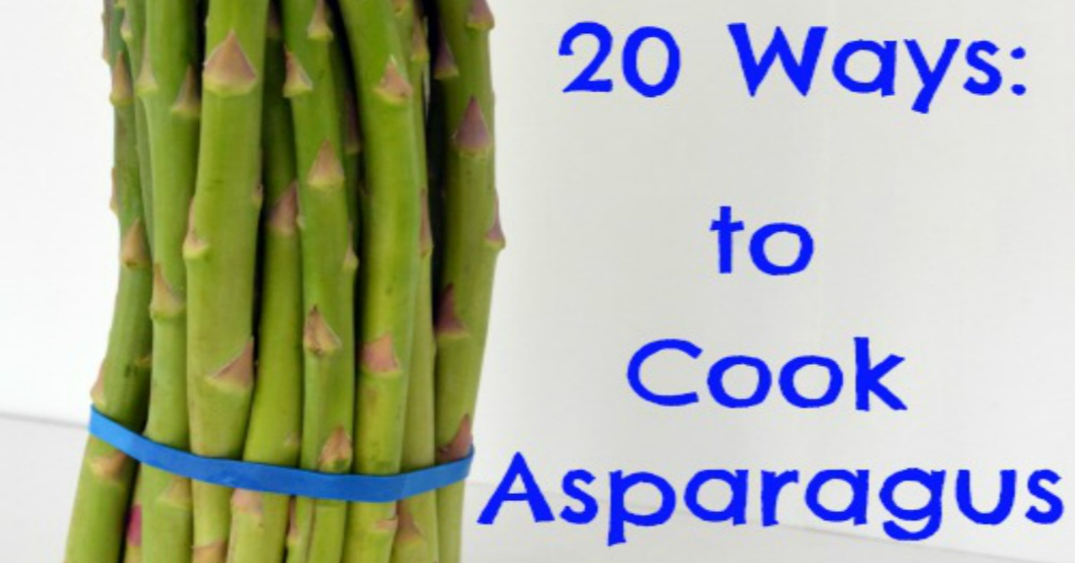 how to cook and serve asparagus