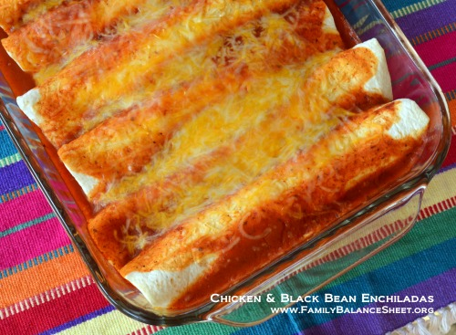 Chicken & Black Bean Enchiladas 3