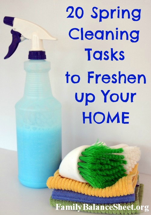 spring cleaning tasks 2