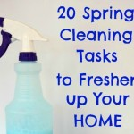 20 Spring Cleaning Tasks to Freshen Your Home + a FREE Checklist