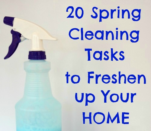 Spring Cleaning Tasks To Freshen Up Your Home