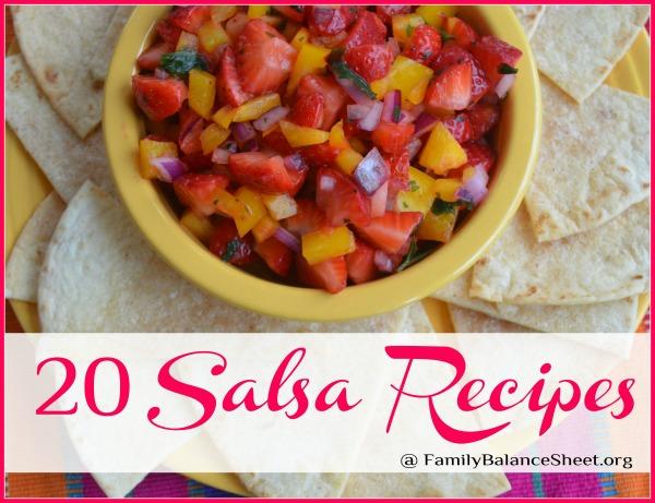 20 Salsa Recipes