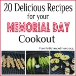 20 Delicous Recipes for Your Memorial Day Cookout