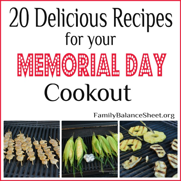 Recipes for Memorial Day cookout