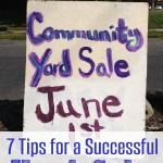 How to Have Successful Yard Sale: 7 Tips!