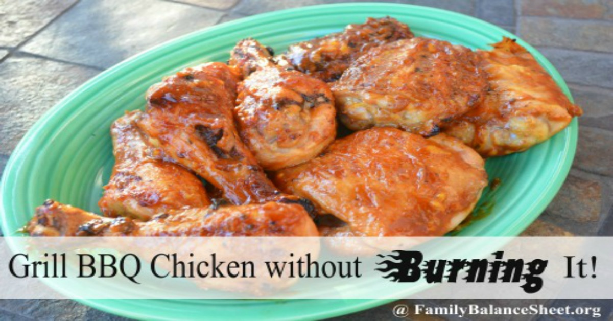 how to cook chicken on bbq without burning