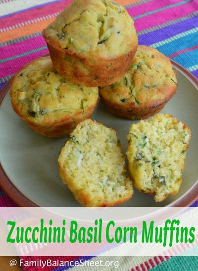 Zucchini Basil Corn Muffins 400 X 547