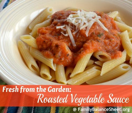 Roasted Vegetable Sauce