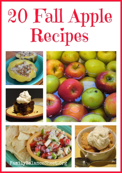 20 fall apple recipes 1
