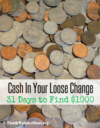 Cash In Your Loose Change