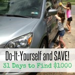 Do-It-Yourself & Save | 31 Days to Find $1000