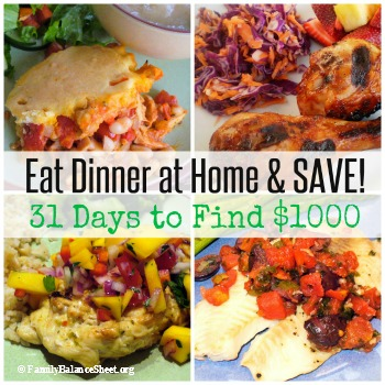 eat dinner at home & SAVE