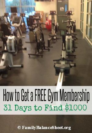 how to get a free gym membership