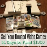 Sell Your Unused Video Games | 31 Days to Find $1000