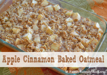 Baked Apple Oatmeal Recipe — Dishmaps