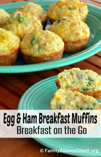 Egg & Ham Breakfast Muffins