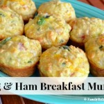 Egg & Ham Breakfast Muffins | Breakfast on the Go