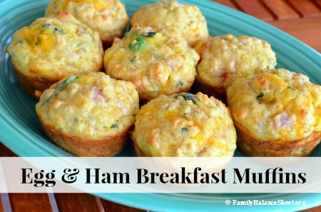 Egg & Ham Breakfast Muffins 1
