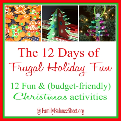 12 Days of Frugal Holiday Fun