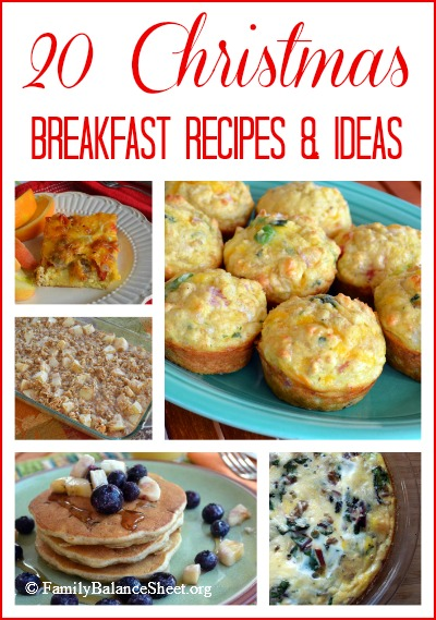 20 Christmas Breakfast Recipes & Ideas