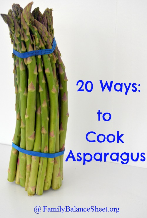how to cook jumbo asparagus