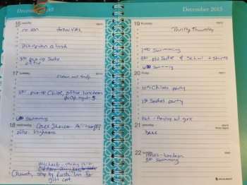 monthly weekly planner 2