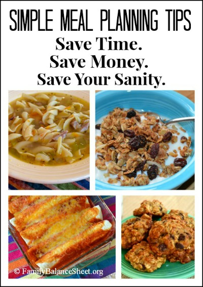 11 Simple Meal Planning Tips