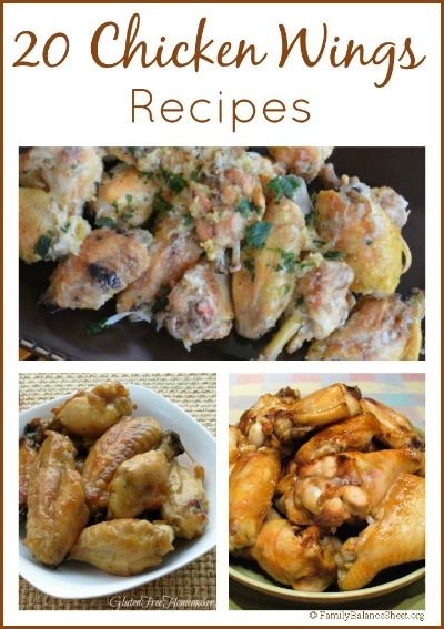 20 Chicken Wings Recipes